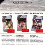 Der obere Teil ist das Cover des Katalogs und der untere Teil zeigt die Seite mit den Star Wars-Filmen. Interessant ist die Nummer der Filme. Krieg der Sterne besitzt die Nummer 36, während Das Imperium schlägt zurück und Rückkehr der Jedi-Ritter die Nummer 51 und 52 haben.